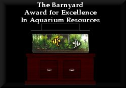 The Barnyard Award for Excellence in Aquarium Resources